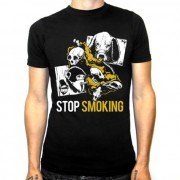 CAMISETA UNISEX solidaria STOP SMOKING