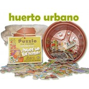 Puzzle en maceta- Huerto urbano