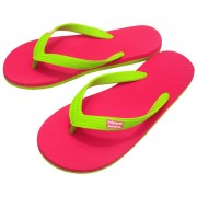 CHANCLAS PINK LIME